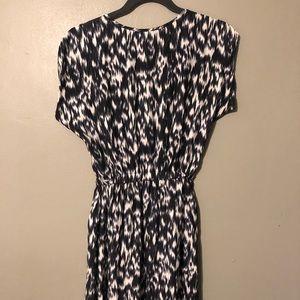 Express one piece short sleeve scoop neck dress
